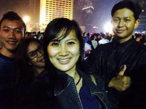 Merayakan tahun baru 2015
