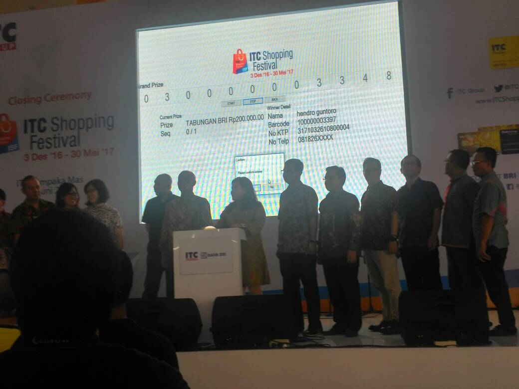 closing itc shopping festival 2