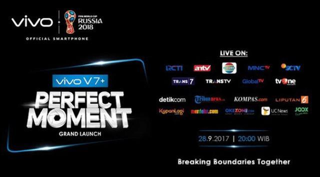 Banner Launching Vivo V7+