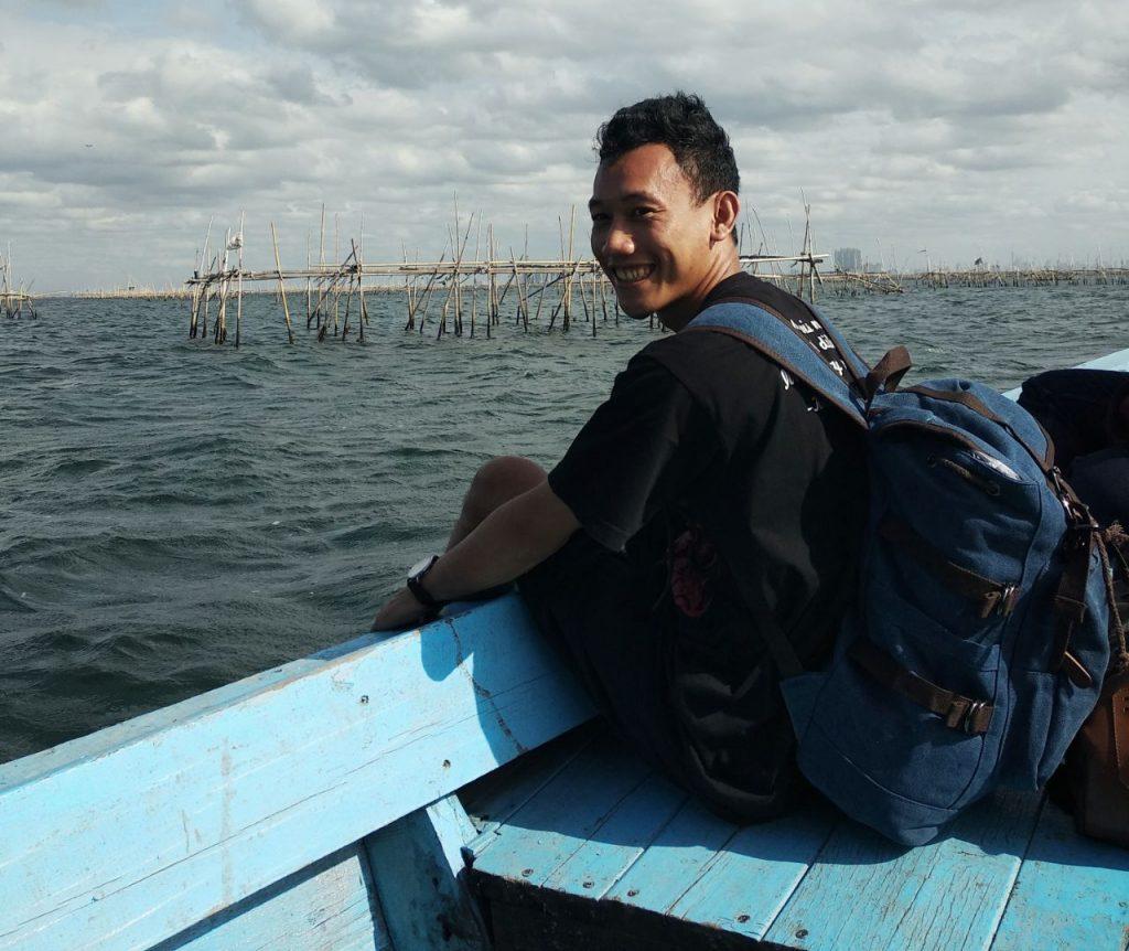 Ketika pulang dari Kepulauan Seribu