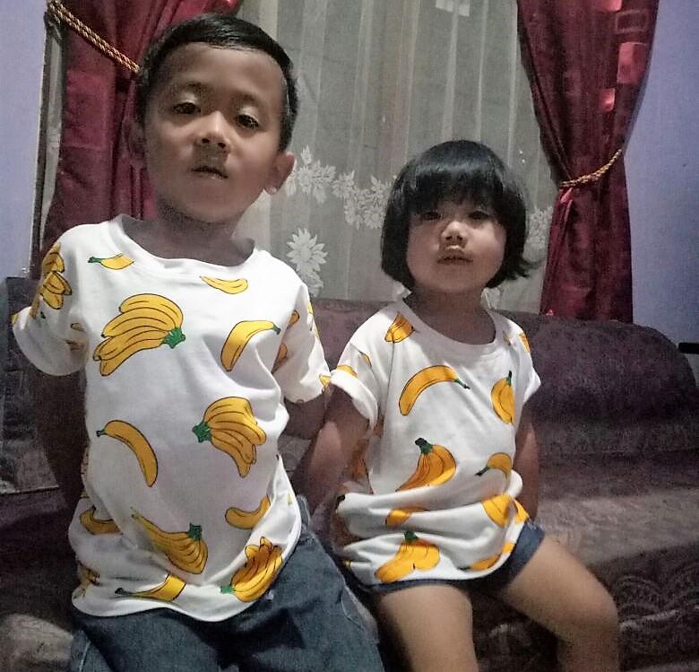 Dua Keponakan saya