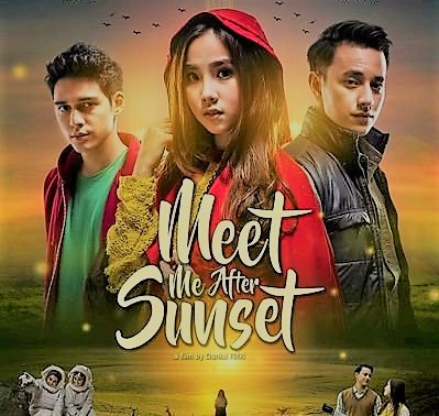 Poster Film Meet Me After Sunset