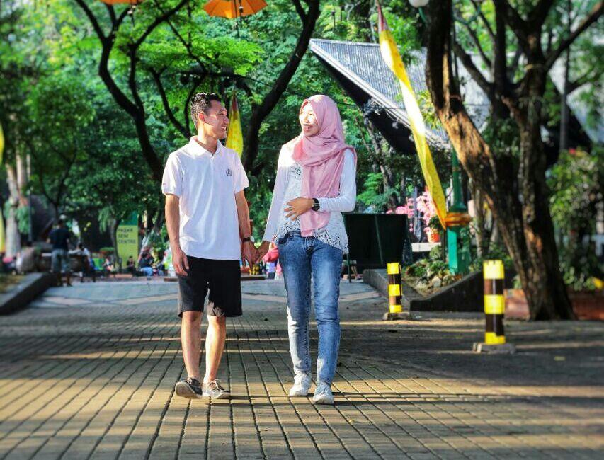 Saya dan Kamu Foto oleh Setya Adji