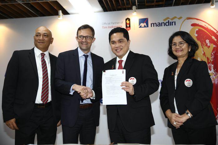 AXA Mandiri Kerjasama dengan KOI untuk mendukung Tim Indonesia