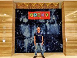 Saya di Greko Creative Hub