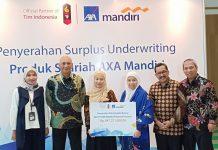 Penyaluran Dana Tabbaru dari AXA MAndiri kepada Baznas Senilai 847 juta