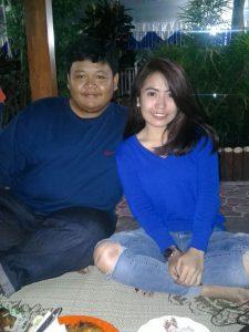 Ari Widodo dengan Dika R. foto minta diuopload oleh Ari.