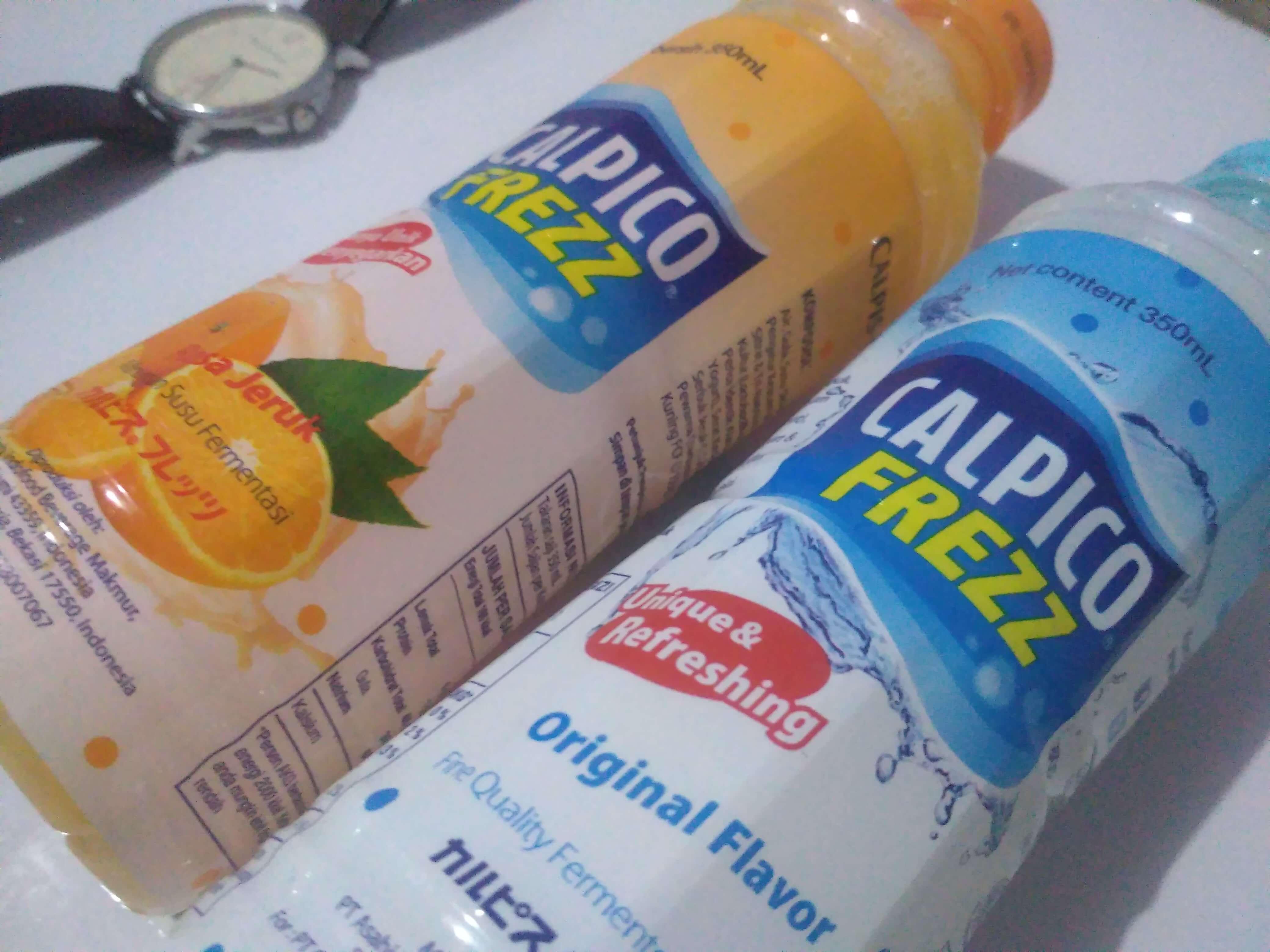 Calpico, Minuman Susu Fermentasi dengan Rasa Unik Menyegarkan
