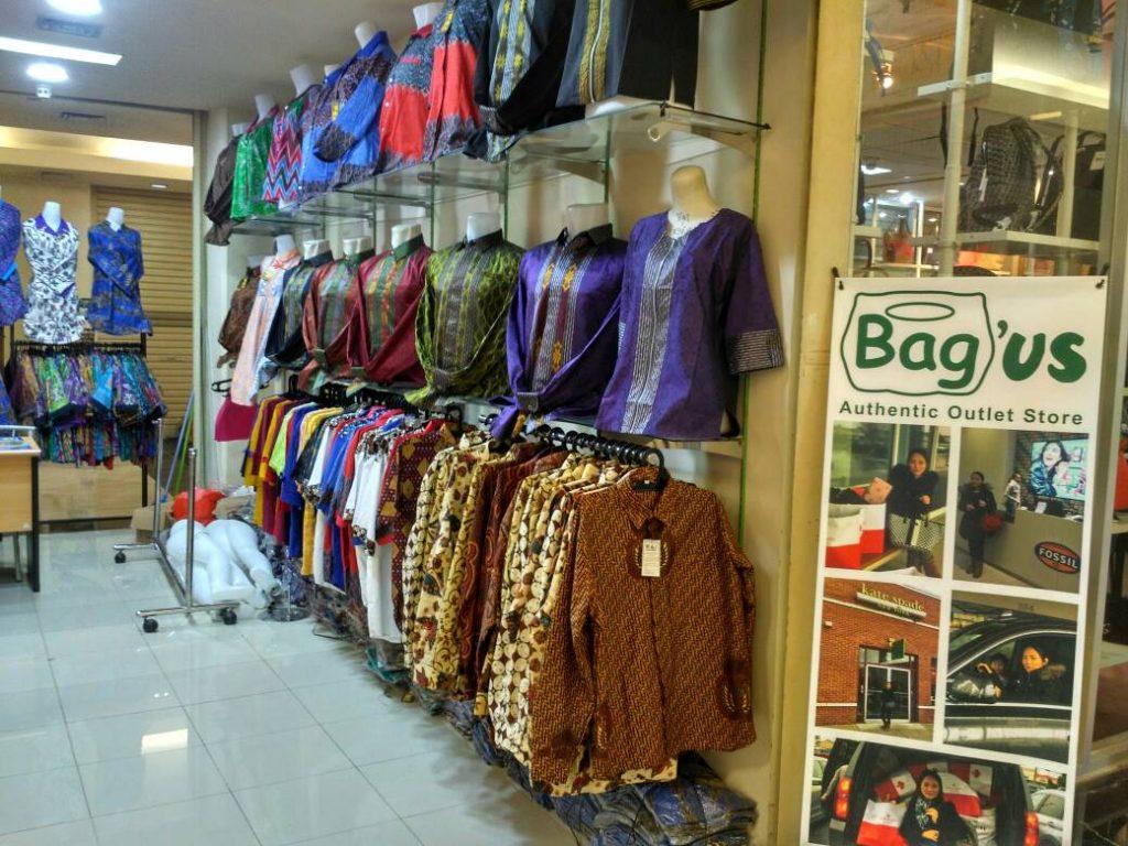 Salah Satu Gerai Batik di Grand ITC Permata Hijau Lantai 2