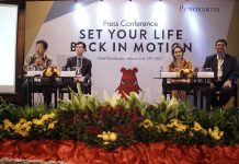 Press Conference Set Your Life Back in Motion