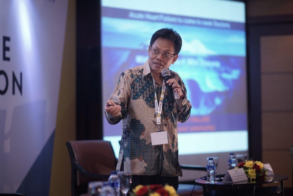 Prof. Dr. Bambang Budi Siswanto Press Conference Set Your Life Back in Motion