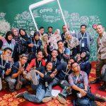 Keseruan Kelas Blogger saat Launching OPPO F5