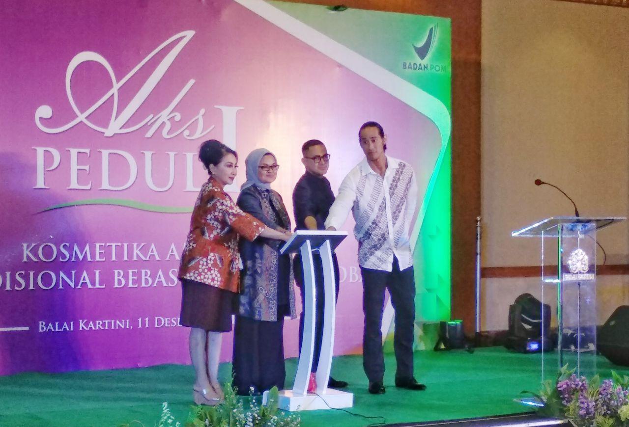 Saya dan teman-teman Blogger Jakarta menghadiri Peluncuran Aplikasi Public Warning