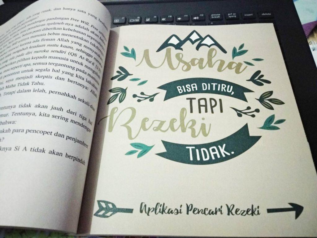 Kutipan Buku Aplikasi Pencari Rezeki
