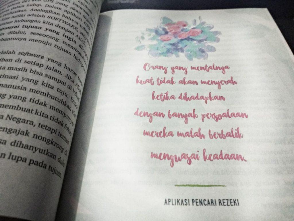 Kutipan Buku Aplikasi Pencari Rezeki 3