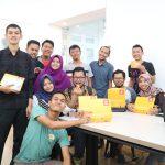 Menyantap makan siang dari Kulina bersama Blogger Jakarta