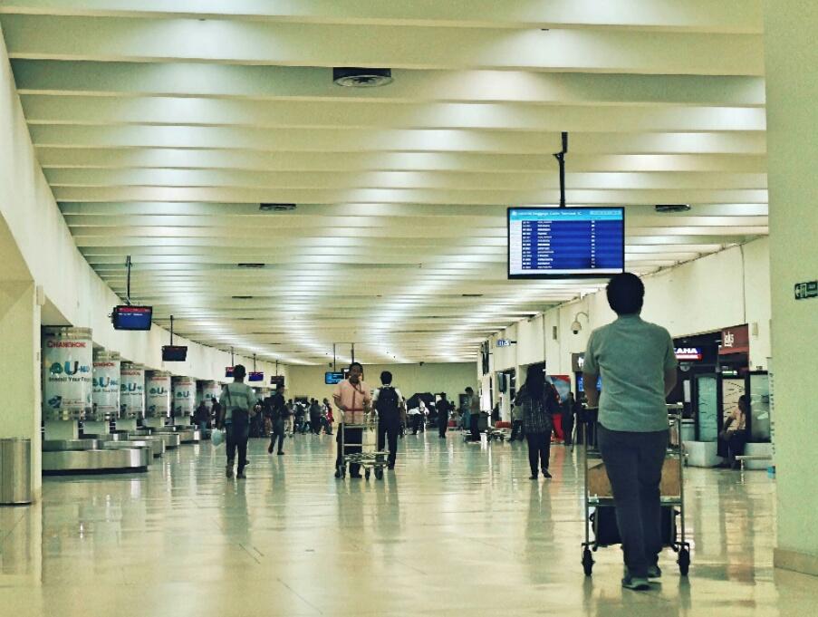 Security check di bandara