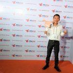 Saat Saya Menghadiri Grand Launching Alfatrex di The Pallas, SCBD Jakarta