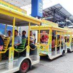 Kereta di Jakarta Fair 2018