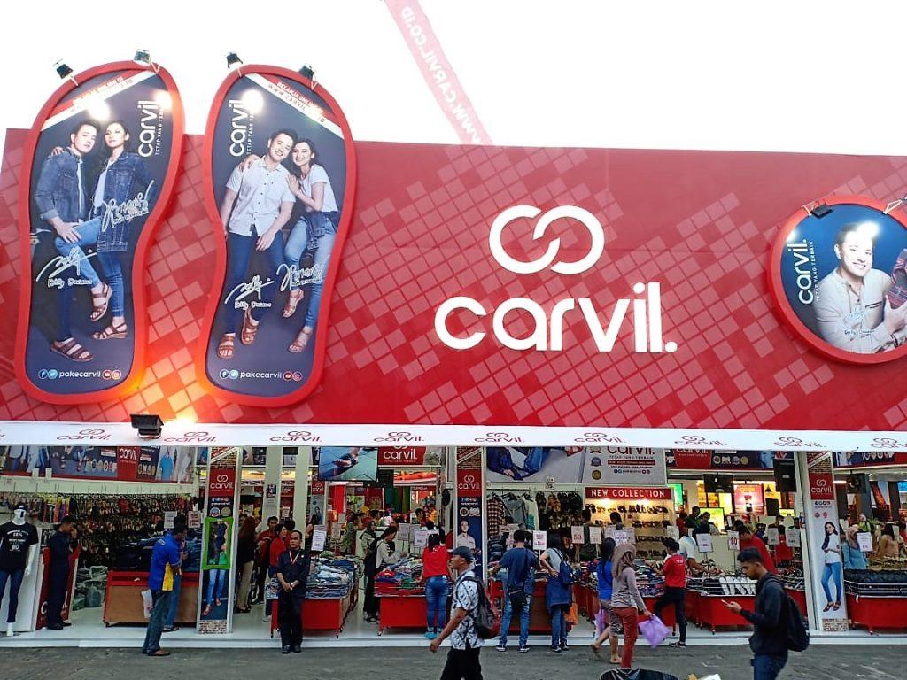 Tenant Carvil di Jakarta Fair 2018