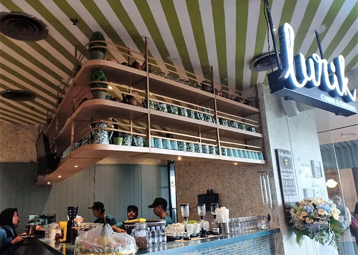 Saya di Lurik Coffee and Kitchen