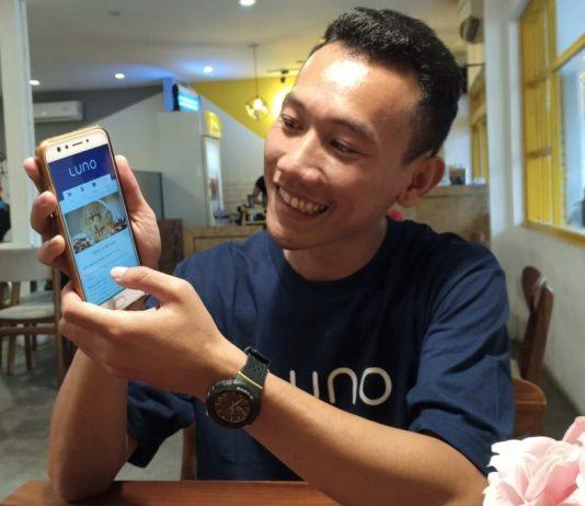 Transaksi Bitcoin menggunakan Luno
