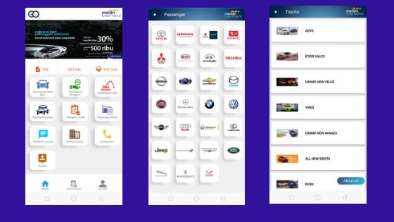 Aplikasi MTF GO dan berbagai fiturnya