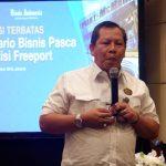 Bambang Susigit Diskusi Terbatas Skenerio Bisnis Pasca Akuisisi Freeport