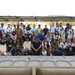 Para Peserta Jelajah Alam Aqua siap ke Pulau Untung Jawa