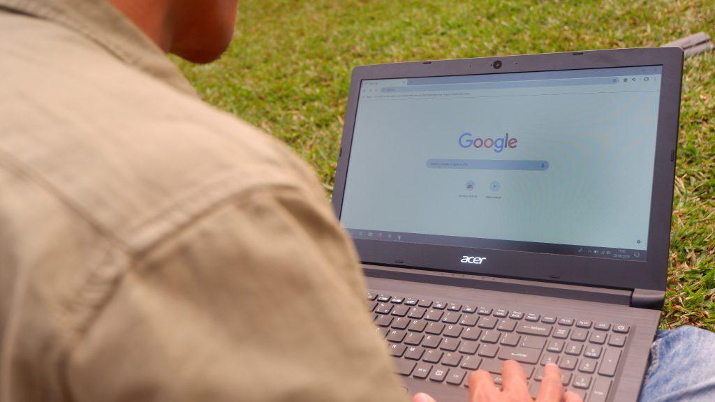 Saat Ngeblog Menggunakan Acer Aspire 3 Ryzen