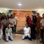 Bersama Bloggercorny di Peluncuran Overdozzz with love, di Food Hall Plaza Indonesia