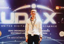 Saat saya menghadiri launching Udax Indonesia