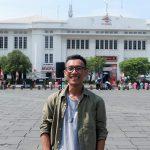 Saya saat Main ke Kota Tua, Jakarta