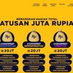 Total Hadiah Kompetisi Cocofest Indonesia