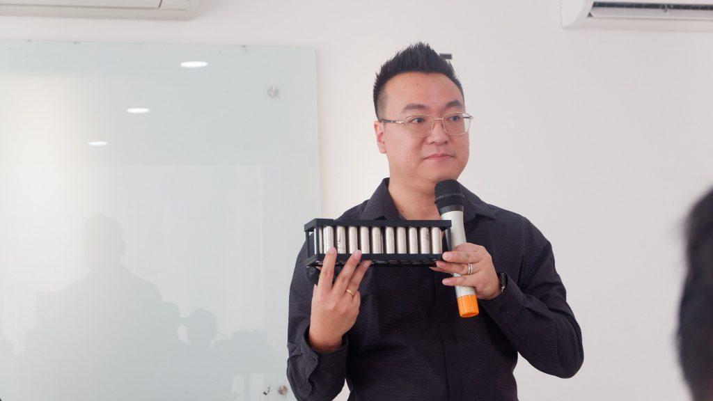 Victor Wirawan CEO dan Owner PT Aldebaran Rekayasa Cipta