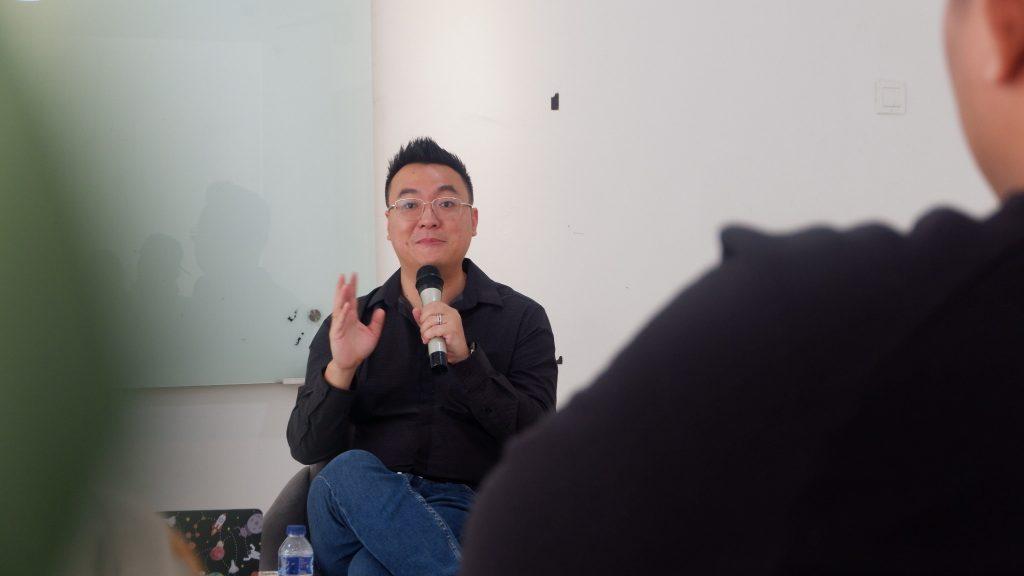 Victor Wirawan CEO dan Owner PT Aldebaran Rekayasa Cipta saat menjelaskan mengenai Baran Energy